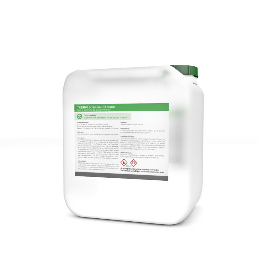 Schimmel-EX Konzentrat Bio 1L Kanister (Schimmelentferner / Desinfektionsmittel)