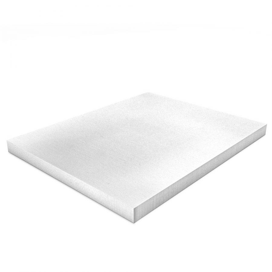 Kalziumsilikatplatten Innendaemmung Einzelplatte in weißgrau (nah). Maße 500mm x 625mm x 25mm