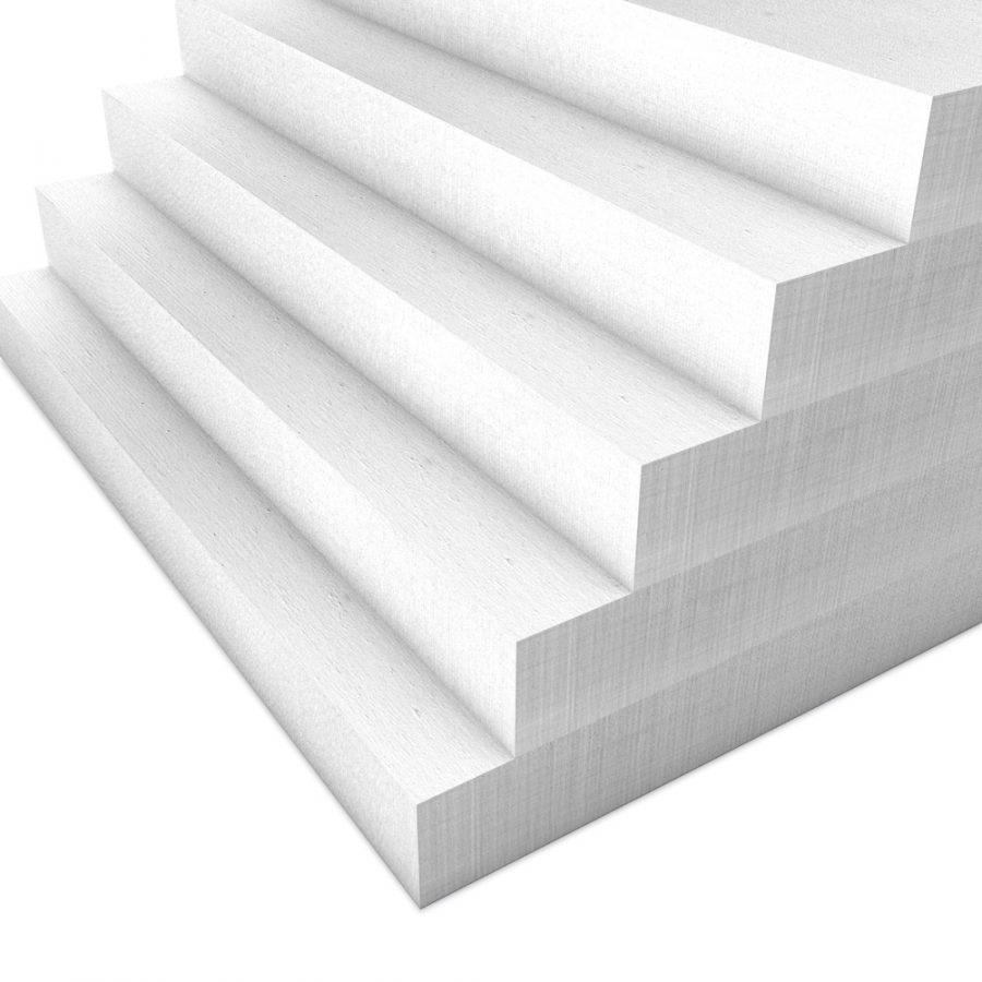 Kalziumsilikatplatten Innendaemmung Mehrpack in weißgrau (nah). Maße 500mm x 625mm x 50mm