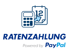 Ratenzahlung powered by PayPal - Logo + Icon