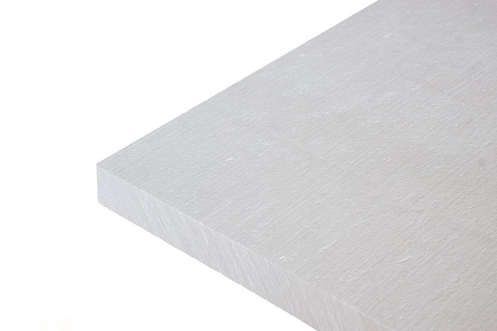 Kalziumsilikatplatte in weiss (unbehandelt)