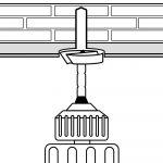 Decken- und Wandschrägen Montage (Schritt 2)