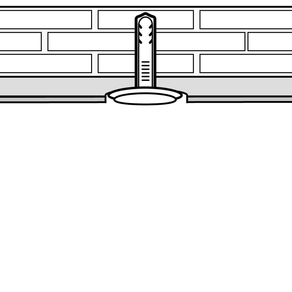 Decken- und Wandschrägen Montage (Schritt 5)