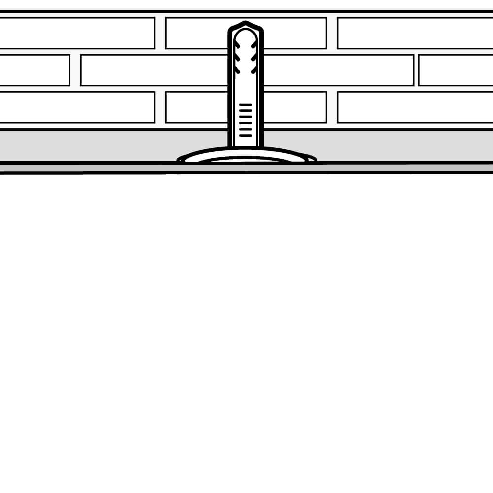 Decken- und Wandschrägen Montage (Schritt 6)